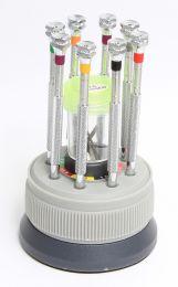 Professional Quality 8-piece Precision Jeweller's Screwdriver set