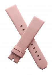 17/15 mm Pink genuine leather strap to fit TAG Heuer Ladies Formula 1 models listed