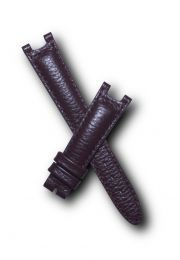 Brown Buffalo Grain leather strap to fit TAG Heuer S/el mid-sized models with pin buckles